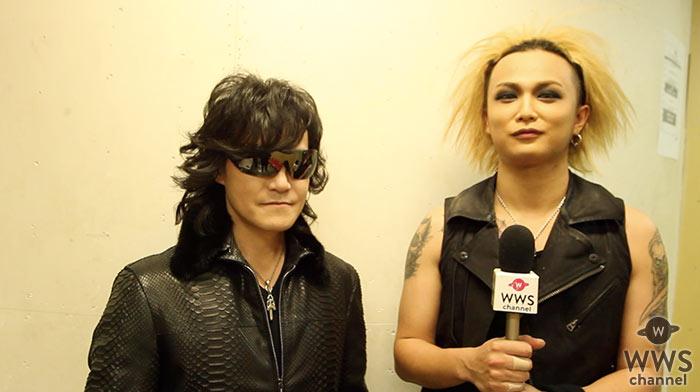【動画】X JAPAN ToshlがDEZERT SORAと2ショットインタビュー!2月12日開催「VISUAL ROCK NIGHT」について語る!「X JAPANがいなければいまの自分は存在しない」