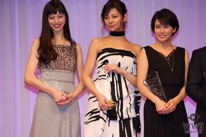 中条あやみ 西内まりやらが第28回日本ジュエリーベストドレッサー賞で競演!