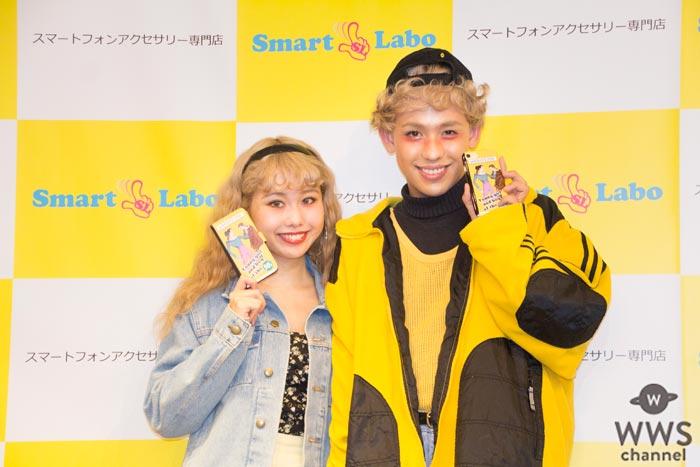 新婚夫婦・ぺこ、りゅうちぇるの初めての共同作業は新作スマホケースをプロデュース!?