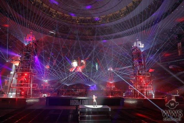 HiGH & LOW THE LIVEが遂に映像化決定!4大ドーム18公演で開催したアリーナ全面ステージの前代未聞のド迫力ライブ!