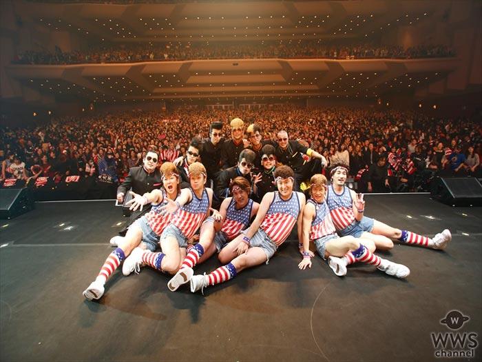 氣志團が結成20周年記念に成人式を開催!初代メンバーもサプライズ登場!