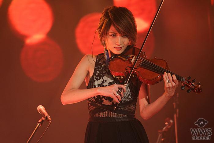 【ライブレポート】美しすぎるヴァイオリ二スト・Ayasaが『Ayasa Theater episode 2』開催! 『天空都市イシス』などライブ初披露楽曲で盛上げる!