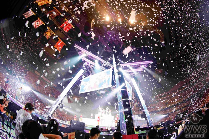 E-girls 史上最大規模の全国アリーナツアーの模様を収録したライブ映像がdTVで独占先行配信!