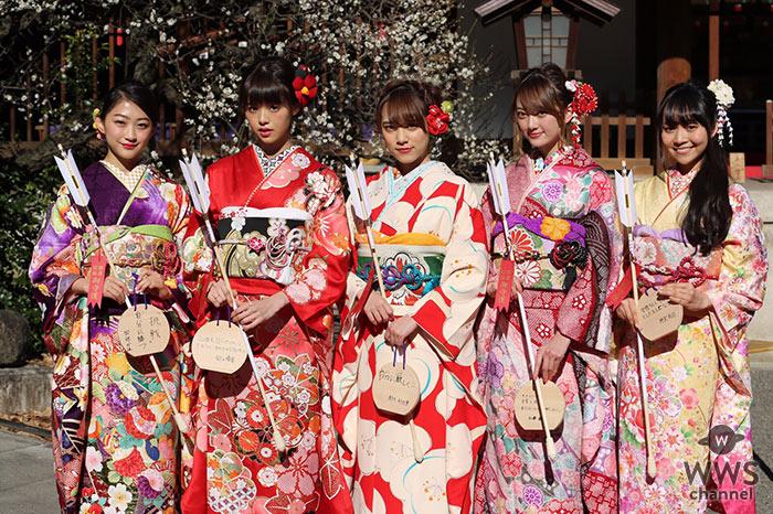 新成人を迎えた都丸紗也華、加藤雛らが着物姿が登場!