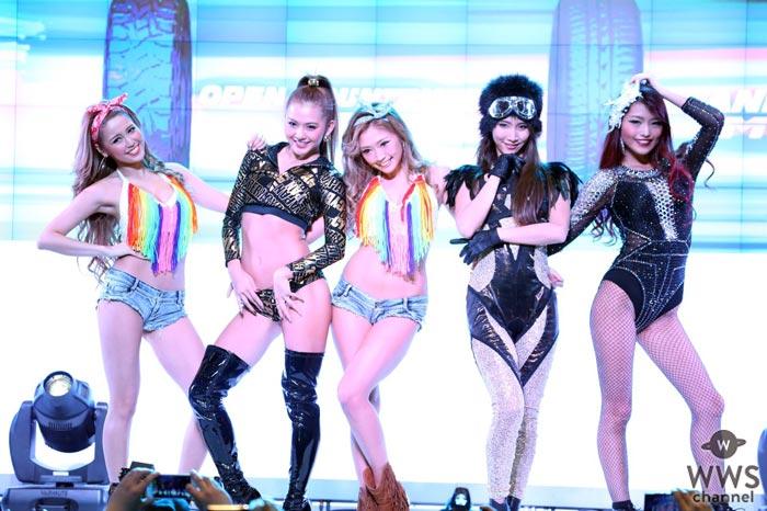 セクシーすぎて話題沸騰!CYBERJAPAN DANCERSが東京オートサロン2017 TOYO TIRESブースで魅せる!