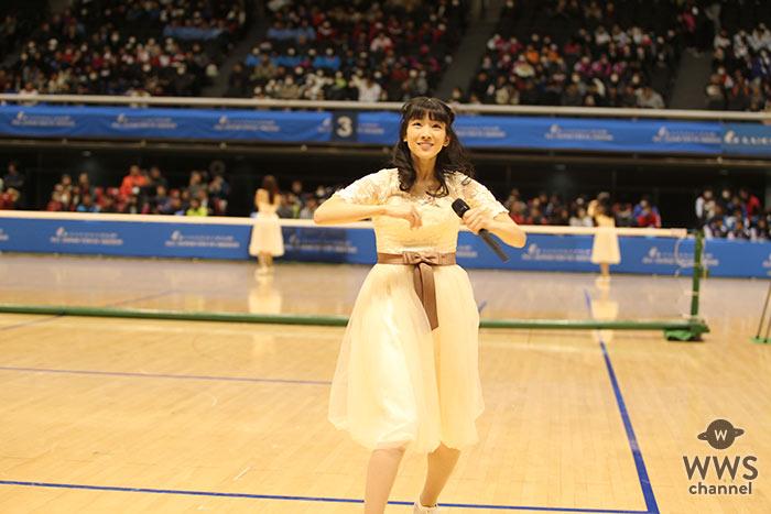 第57回 東京インドア全日本ソフトテニス大会で正統派美少女アイドルグループ・さくらシンデレラがライブ出演!