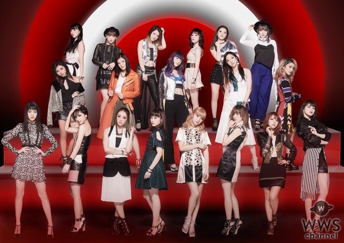 E-girlsとSNOWのコラボスタンプが初登場!1月16日(月)~2月15日の期間限定配布!