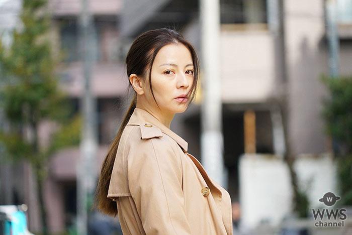 ファッションリーダー・香里奈が流行を作る?!トレンチコートが「嫌われる勇気」で注目集める!!