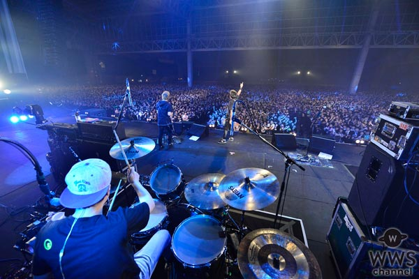 10-FEETがCOUNTDOWN JAPAN16/17 2日目のトリを務める!約1時間に渡る熱くて濃いライブシーンに客席から鳴りやまぬ歓声