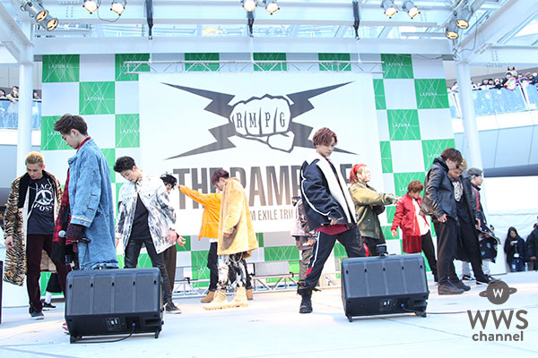 THE RAMPAGE from EXILE TRIBEがメジャーデビュー記念イベントをラゾーナ川崎で開催!