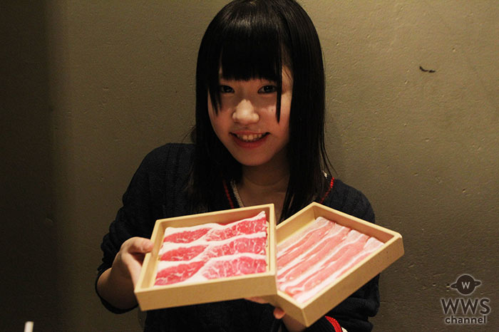 【動画】正統派美少女アイドル・桜瀬もえ(さくらシンデレラ)が人生初のしゃぶしゃぶ温野菜で牛タン新メニューをレポート!