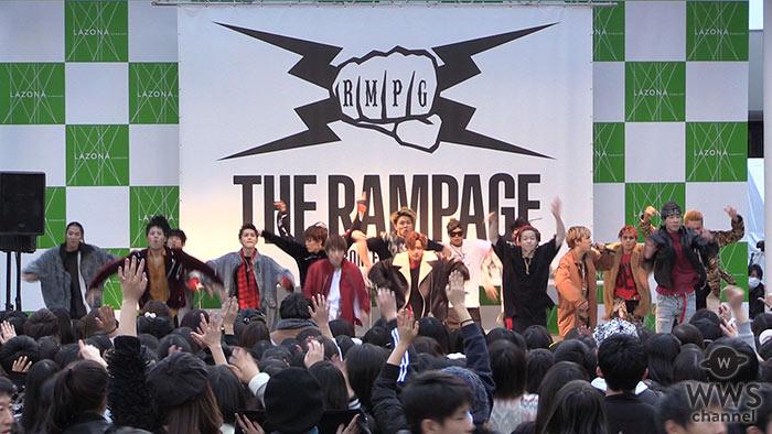 【動画】THE RAMPAGE from EXILE TRIBEがメジャーデビュー記念イベントをラゾーナ川崎で開催!