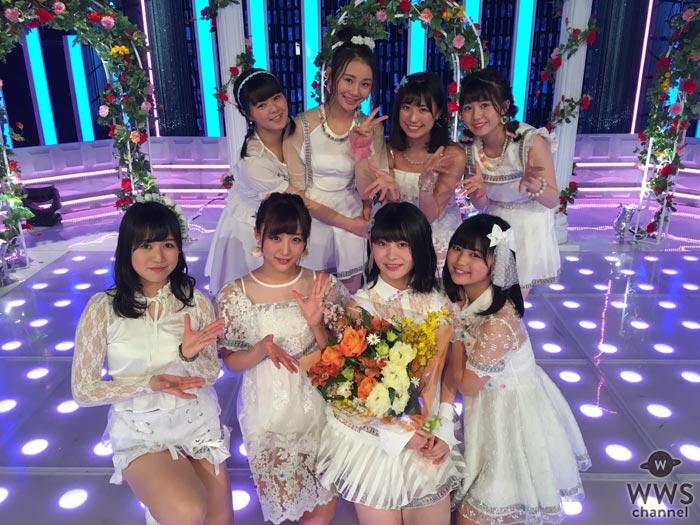 SKE48派生ユニット・ネクストポジションが『AKB48 SHOW!』出演で、先日卒業を発表した野口由芽にサプライズ!