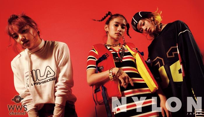E-girlsから派生したユニット『スダンナユズユリー』がNYLON JAPANの表紙を飾る!「3人共、NYLONが大好きで、家にNYLONを飾っています(笑)」