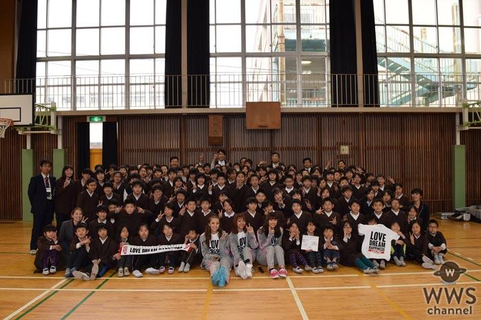 E-girlsのAya、Shizuka、山口乃々華が『夢の課外授業』にサプライズ登場!「ダンスは一瞬にしてみんなを笑顔にしてくれる力を持っている」