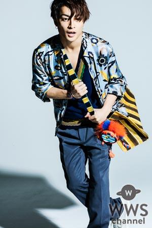EXILE、GENERATIONSの白濱亜嵐が世界的ファッションブランドFENDIの春夏コレクションを身に纏って『MEN'S NON-NO』に登場!