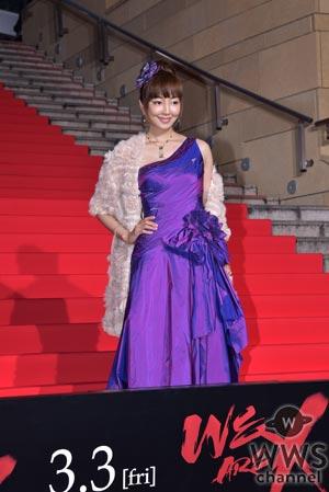 AKB48、X21、May J.ら総勢50名もの様々なジャンルの著名人が映画『WE ARE X』ジャパンプレミア・レッドカーペットに登場!