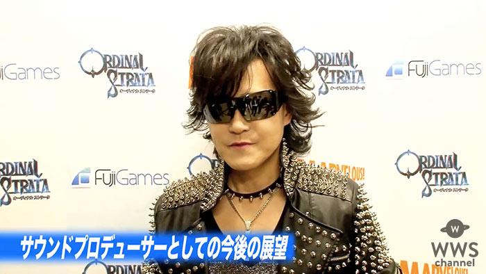 【動画】壮大な新曲『CRYSTAL MEMORIES』を初披露したToshl(X JAPAN )にインタビュー!「自分の楽曲と共に何か新しい日本のゲームの可能性を広げたい」