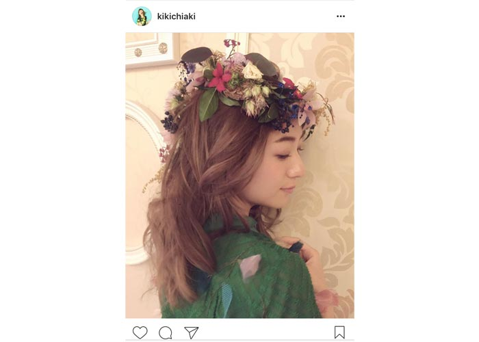 AAA 伊藤千晃の花冠をかぶった天使すぎる姿に絶賛の声!「一生 私の憧れやし天使です」