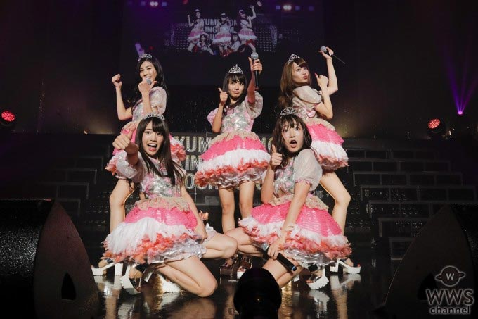 夢みるアドレセンス ベストアルバム『5』より、メンバー5人が超満員のZeppに立つ『ファンタスティックパレード』のライブ映像をGYAO!で公開!