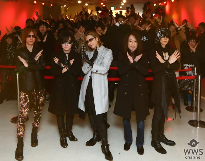 【写真特集】X JAPANが29年ぶりのサイン会でワールドツアー・日本公演の開催を発表!さらにYOSHIKIが『WE ARE X』舞台挨拶ツアーを実施!