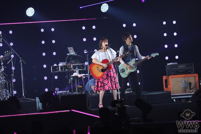【ライブレポート】大原櫻子がTGM2017で映画『チア☆ダン』主題歌『ひらり』を熱唱!広瀬すずと中条あやみがサプライズ出演で応援!