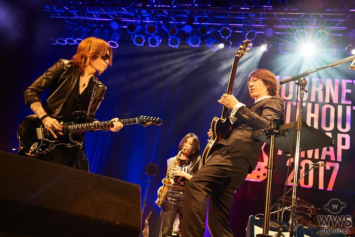 HISASHI、SUGIZOらがサプライズ出演したGLAY TAKUROの1stソロライブツアーが千秋楽!