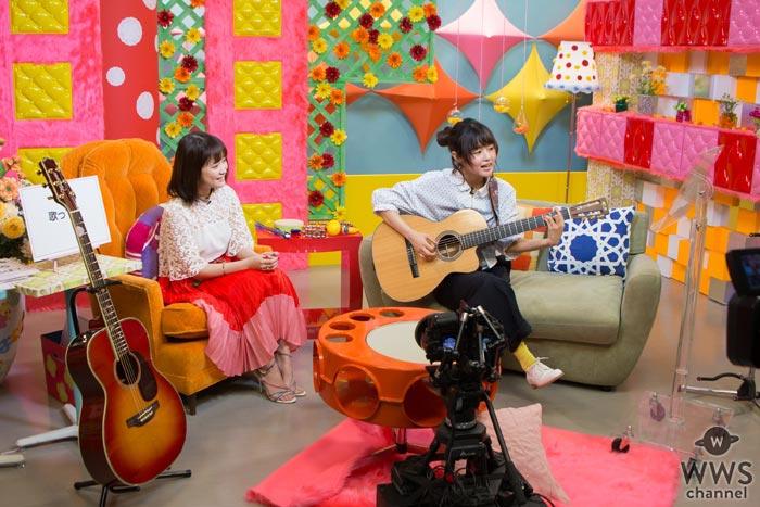 大原櫻子がMCを務める音楽番組の第2回目ゲストは藤原さくら!リクエストに応えて大原櫻子のあの曲を熱唱!