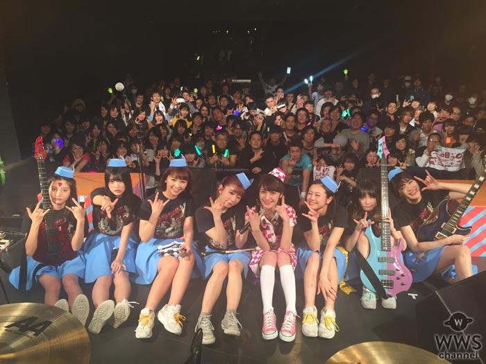 PASSPO☆の全国ツアー福岡公演に元メンバーの佐久間夏帆がサプライズ出演!