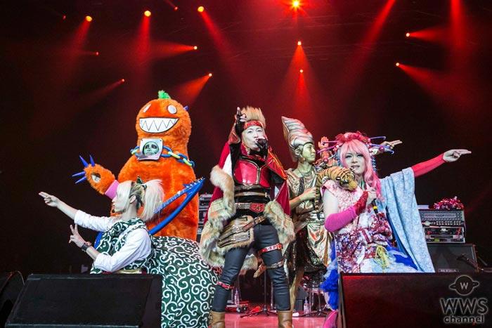 サイコ・ル・シェイムが、2017 m.c.A・T祭「俺フェス」で真骨頂の劇場型のパフォーマンスを披露しイベントを彩る!