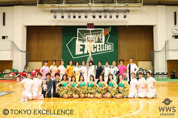 看護師ユニット「NurseHouse(ナースハウス)」が圧巻のランウェイパフォーマンス! B.LEAGUE・東京エクセレンスの公式試合を盛り上げる!