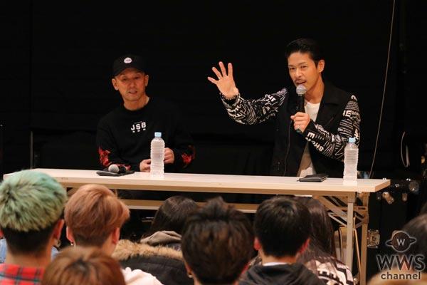 EXILE 松本利夫が夢を目指す後輩に特別レッスンを開催!「恥をかいた人ほど成功できるチャンスがあると思う」