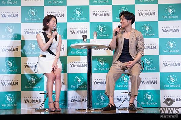 筧美和子が大谷亮平も絶賛の早着替え&セクシーポーズを披露!「堂々とした背中をイメージしました」