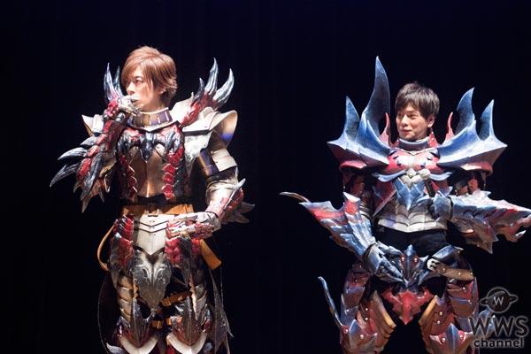 DAIGO、次長課長 井上聡がモンハン装備を身につけWウィッシュポーズで「MHSW!」
