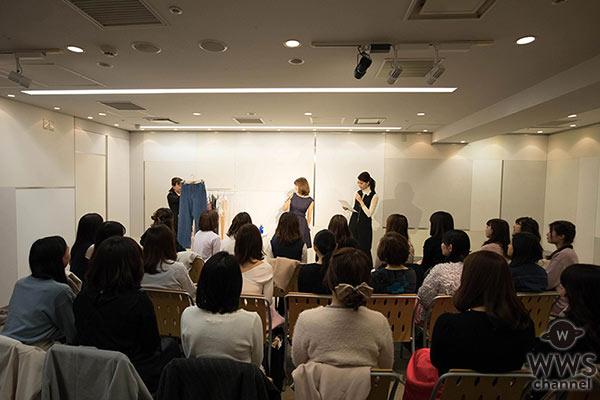 ファッションモデルとしても活躍するchayがスペシャルトークショー開催! chay 気になるファッションの秘密が明らかに!?こだわりのアイメイクも実演披露!