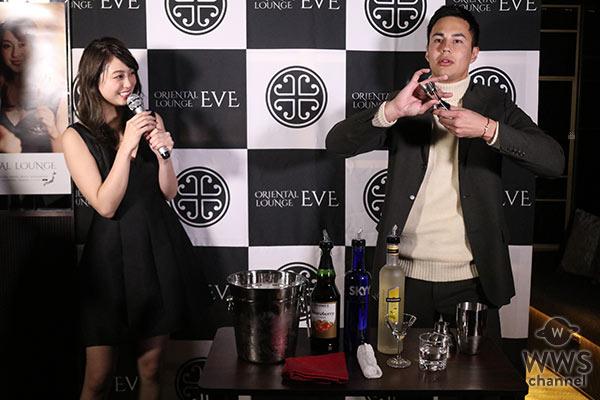 大川藍「芋焼酎をいっぱいおごって欲しい」とお酒大好き宣言!ORIENTAL LOUNGE渋谷店3月3日(金)にオープン!