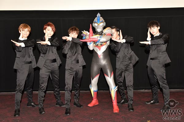 Da-iCEが劇場版『ウルトラマンオーブ』の舞台挨拶に登場!主題歌『TWO AS ONE』や初の声優挑戦について語る!