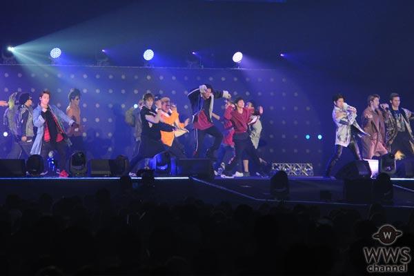 【ライブレポ—ト】THE RAMPAGEがTGM2017で大迫力パフォーマンス!「最高の思い出作ってください!」