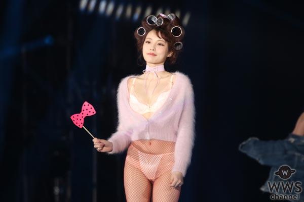 セクシーすぎるファッションショー!道端アンジェリカ、オードリー亜谷香、黒瀧まりあらがランジェリー姿でTGCを魅了!