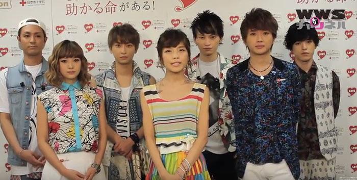 【動画】AAA7名での活動が3月末で終了!2014年武道館イベントで貴重な7名のインタビュー!
