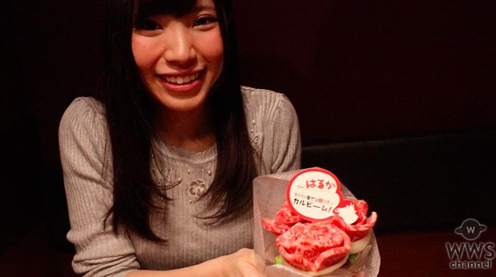 【動画】現役慶應理系女子、美和花樺(さくらシンデレラ)が牛角で「肉ケーキ」に挑戦!ボリューム満点の肉ブーケも堪能!