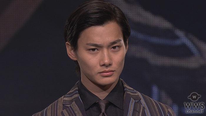 【動画】野村周平が神戸コレクションにゲスト出演!グレイのストライプ柄のスーツで決める!