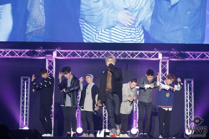 Block BがLOVE BOX 2017に登場!野外ステージ&ライブステージで割れんばかりの歓声があがる!