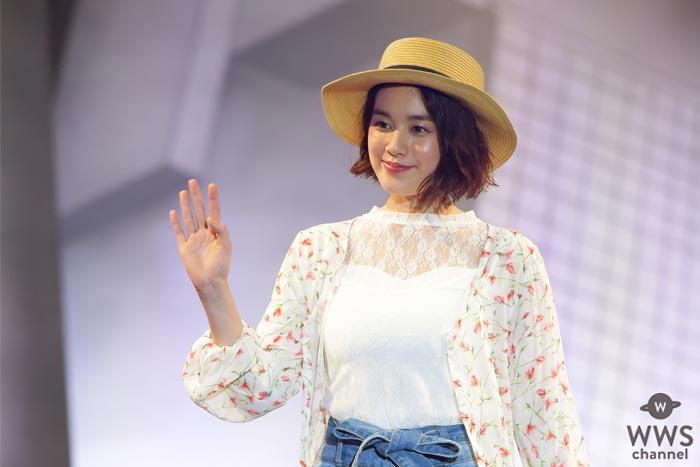 筧美和子が『シブピカフェス』ファッションショーステージを締めくくる!「渋谷はいろんな人が知り合いになる不思議な街」