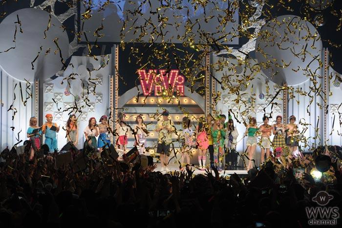 ViViモデル大集合!ラストはカズニョロも駆けつけ『ViVi Night』が大盛況の中フィナーレ!