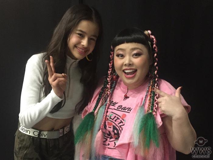 可愛すぎるスーパー中学生・ハーヴィー瑛美が渡辺直美との共演で話題沸騰!