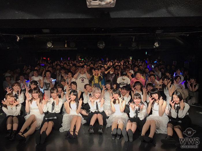 さくらシンデレラとGEMが名古屋で 2マンLIVE開催!可愛い過ぎる『チョコレートパフェ』を19人のコラボで披露!