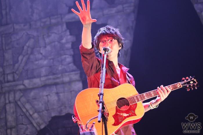 高橋優が7万人を動員した過去最大規模のツアーファイナル公演を開催!大阪城ホールでファン9000人が歓喜!