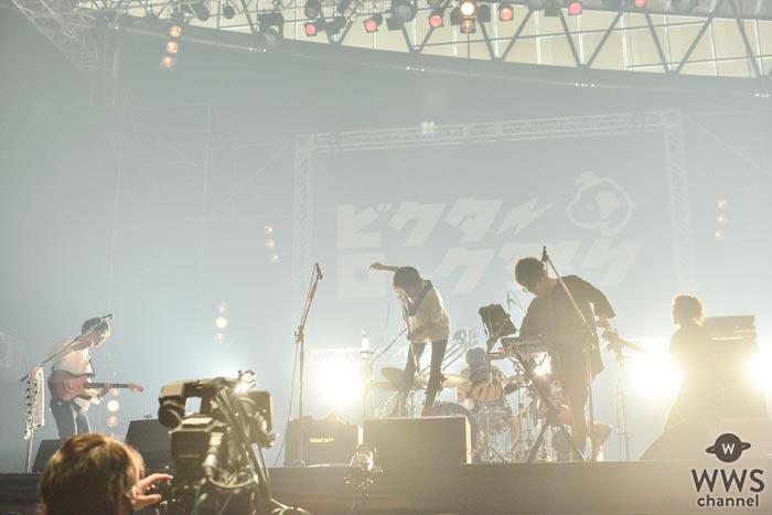 【ライブレポート】キュウソネコカミがビクターロック祭りに参戦!皮肉と笑いのキュウソ劇場!