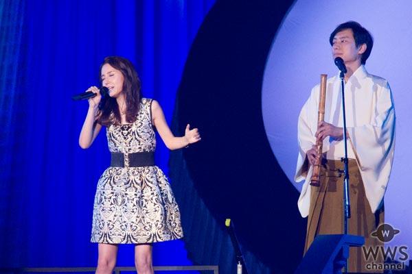 May J.が美空ひばり生誕80周年記念コンサートで『哀愁波止場』を披露!「本当に難しい曲で、歌い終えてホッとしました。」